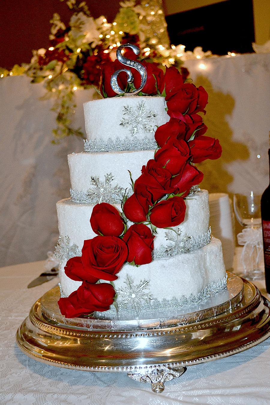 2013 January Wedding Cake  CakeCentralcom