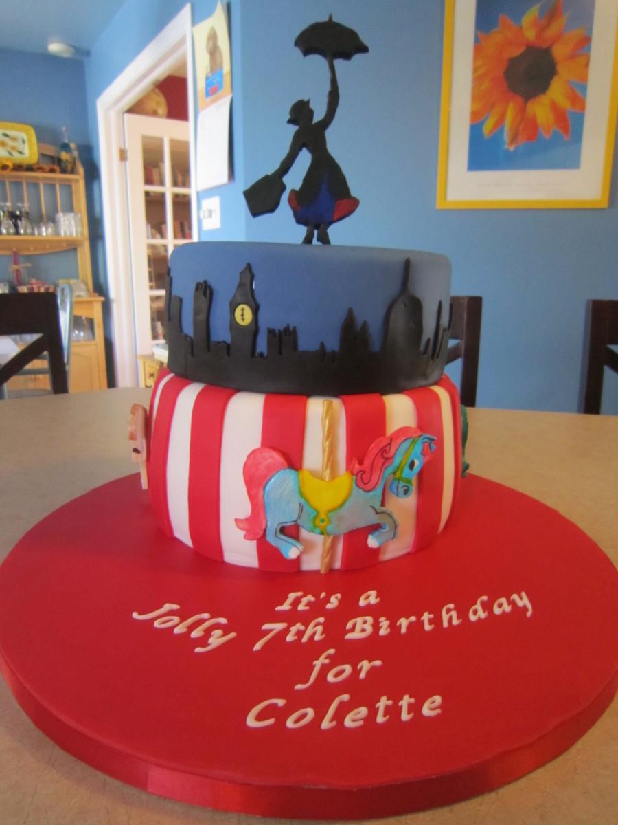 Mary Poppins Cake Cakecentral Com