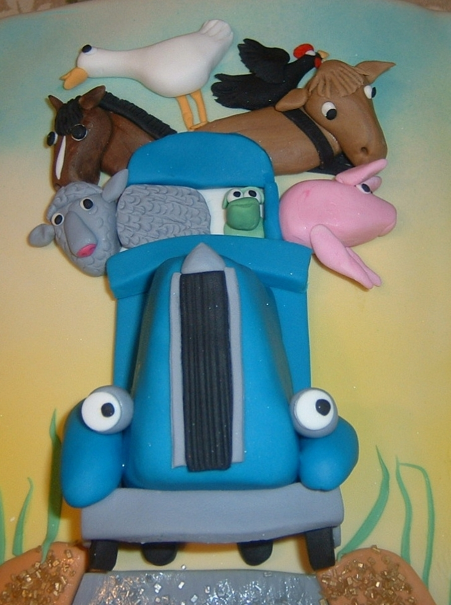 Little Blue Truck Cakecentral Com