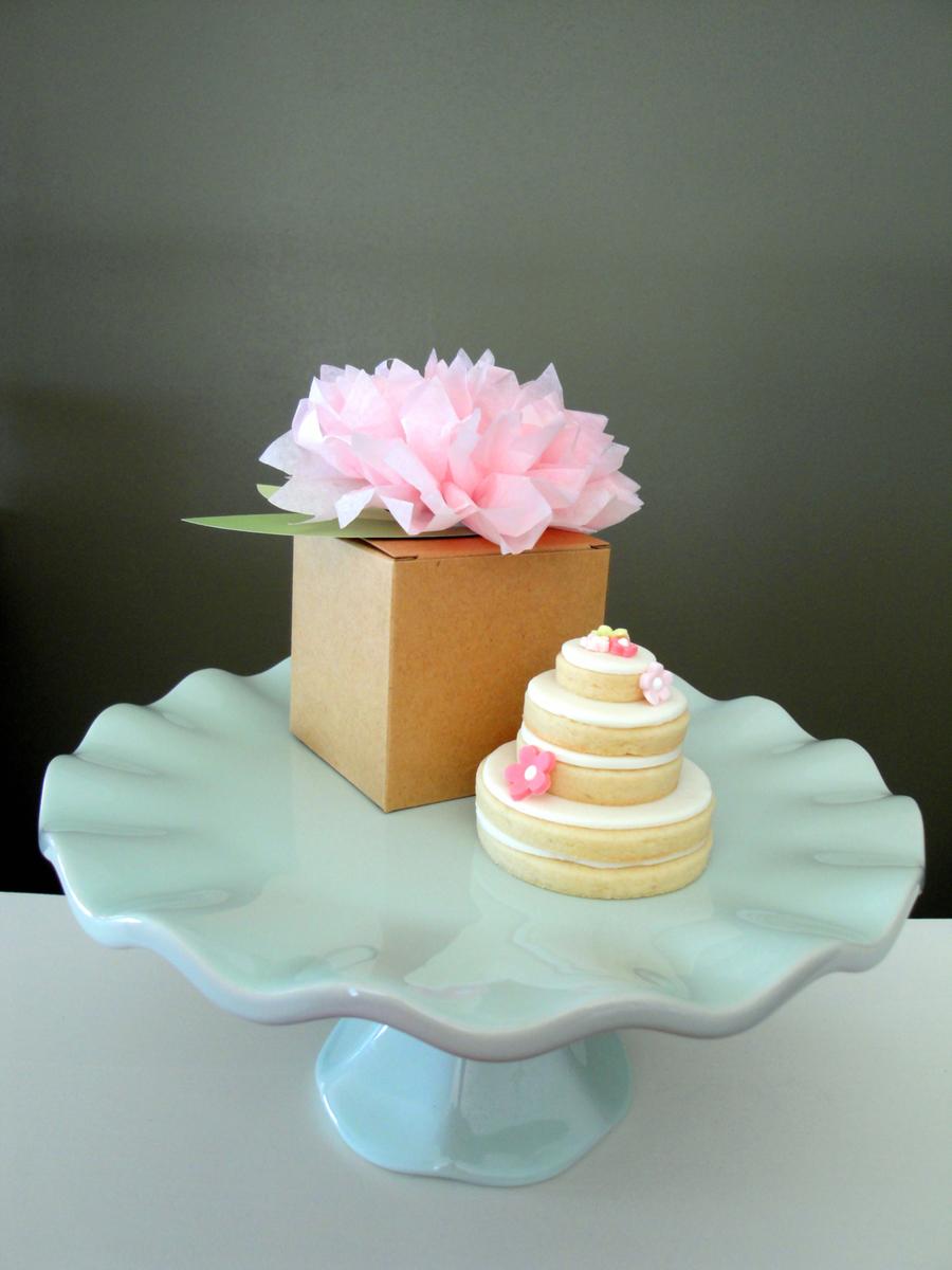 Stacked Wedding Cake Cookies  CakeCentralcom