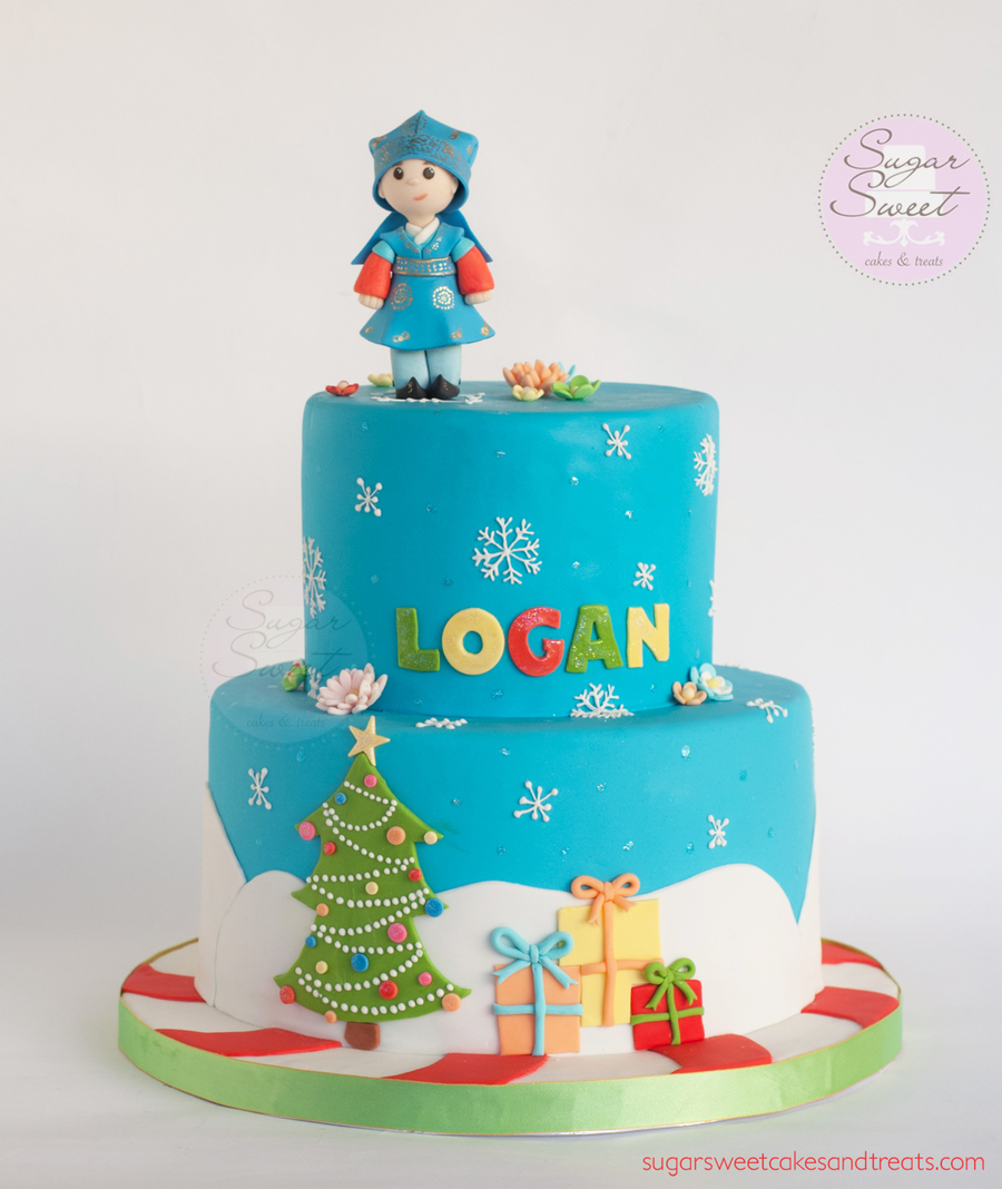 Super Christmas Theme Cake Ideas The Cake Boutique Funny Birthday Cards Online Eattedamsfinfo