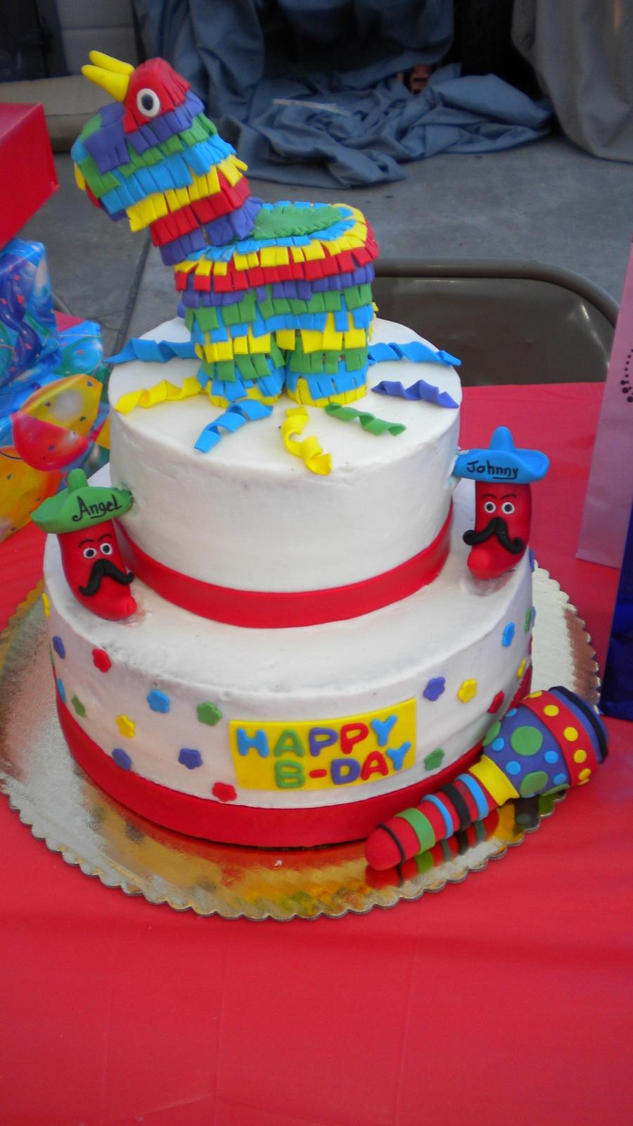 Fiesta Cake Cakecentral Com