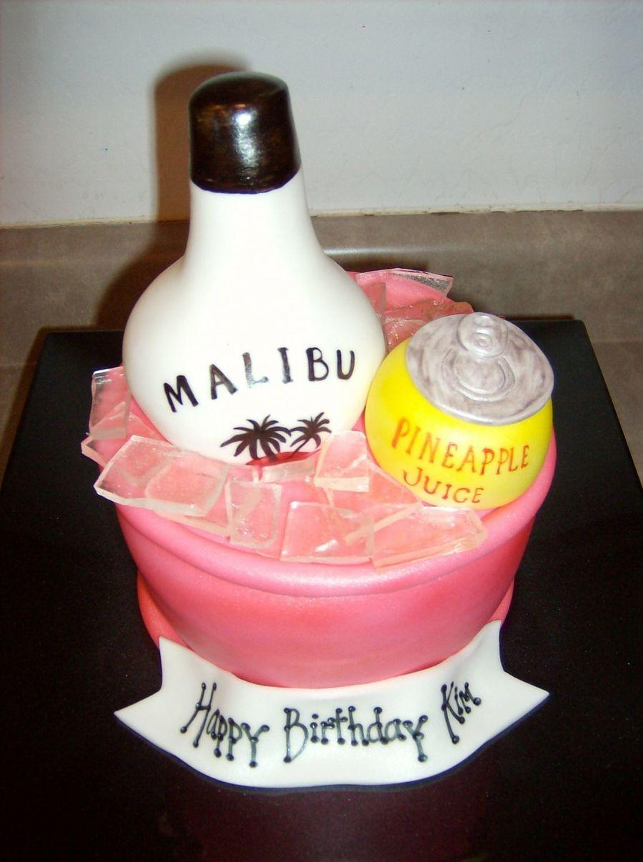 Malibu Rum Bucket Cakecentral Com