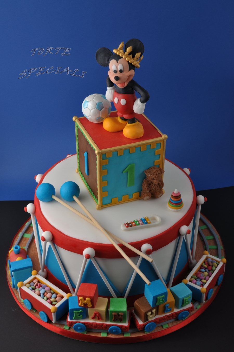 Mickey Mouse Cake  Cakecentralcom