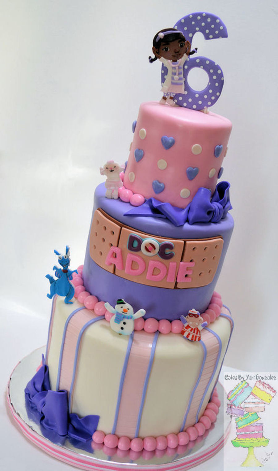 Doc Mcstuffins Theme Birthday Cake Cakecentral Com