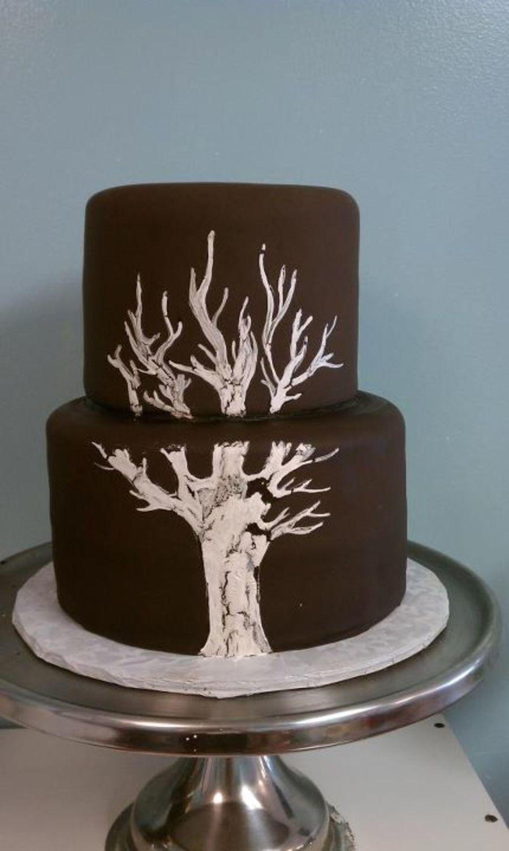 Tree Themed Wedding Cake Cakecentral Com