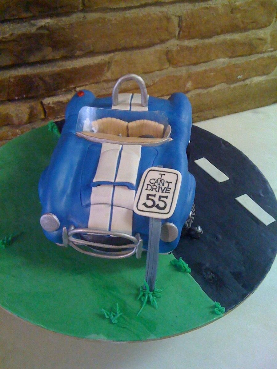 Shelby Cobra Birthday Cake Cakecentral Com