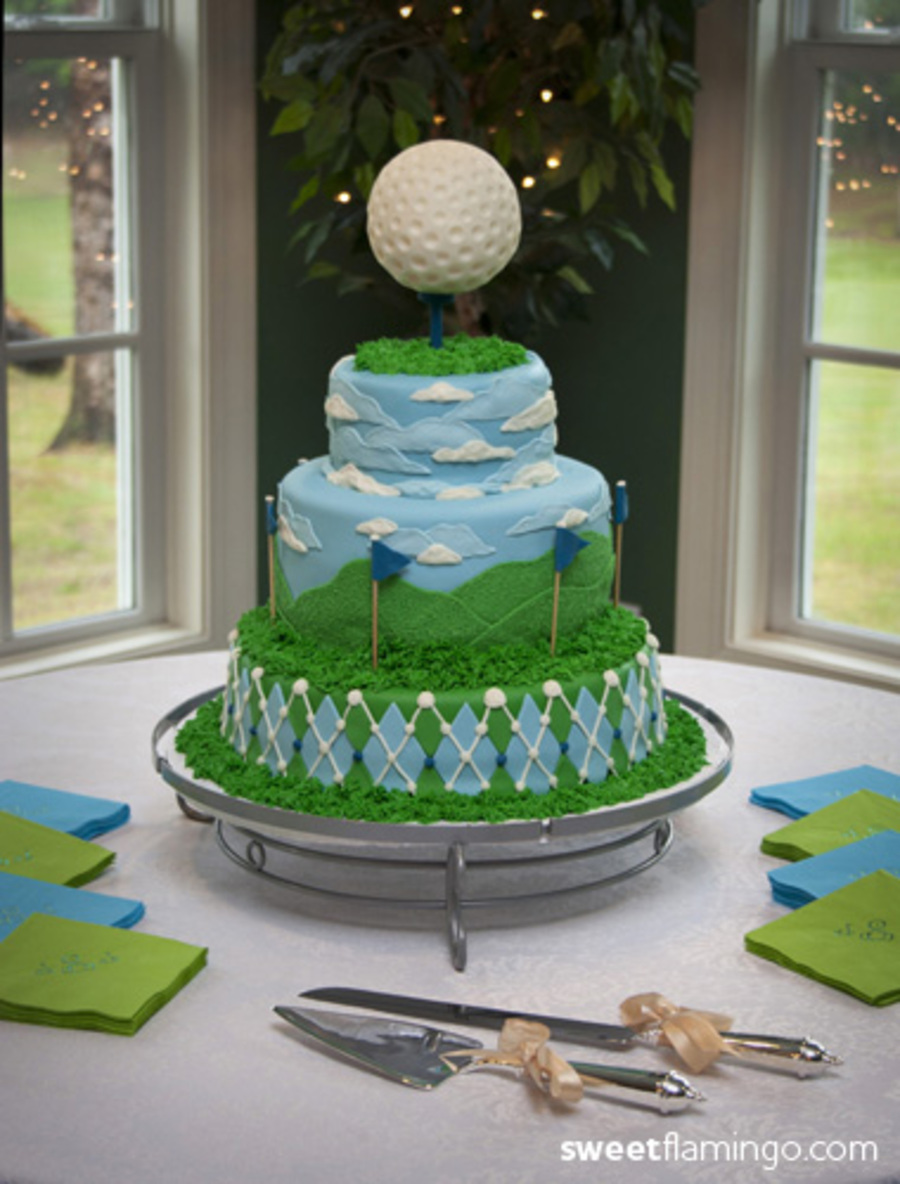a Grooms Cake From The Green  CakeCentralcom