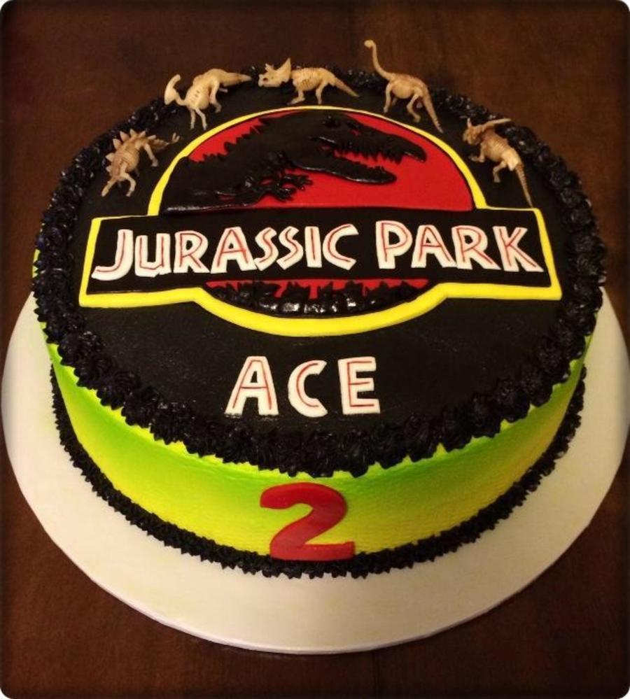 Jurassic Park Birthday Cakecentral Com