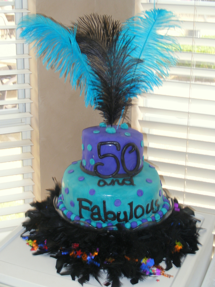 Moms 50Th Birthday  CakeCentralcom