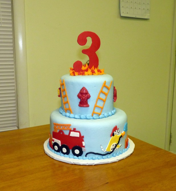 Pictures Of Fire Truck Birthday Cakes Wallsmiga