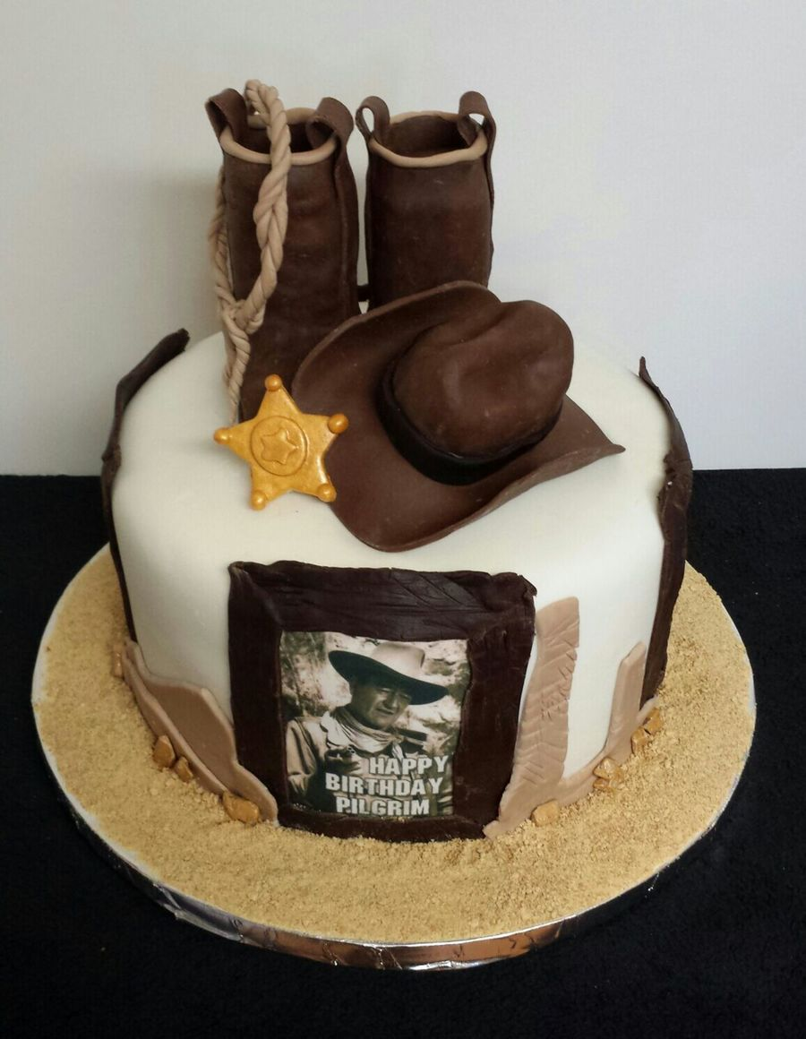 John Wayne Cake Cakecentral Com