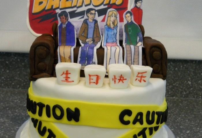 Big Bang Theory Birthday Cake Cakecentralcom