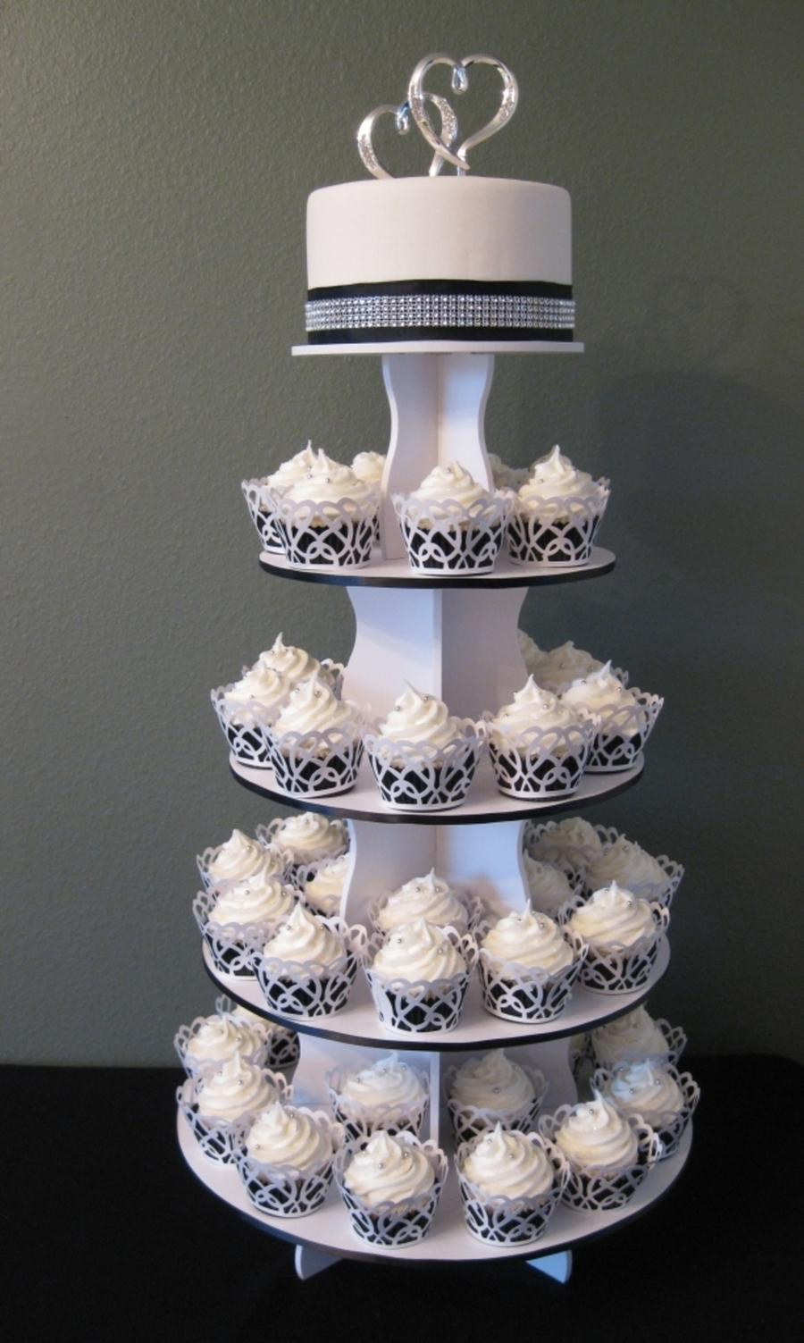 Cupcake Wedding Cake Cakecentral Com