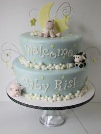 Farm Animal Baby Shower Cake - CakeCentral.com