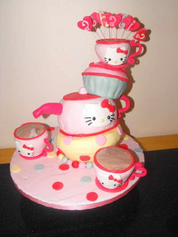 Kitty Mad Hatter Tea Party