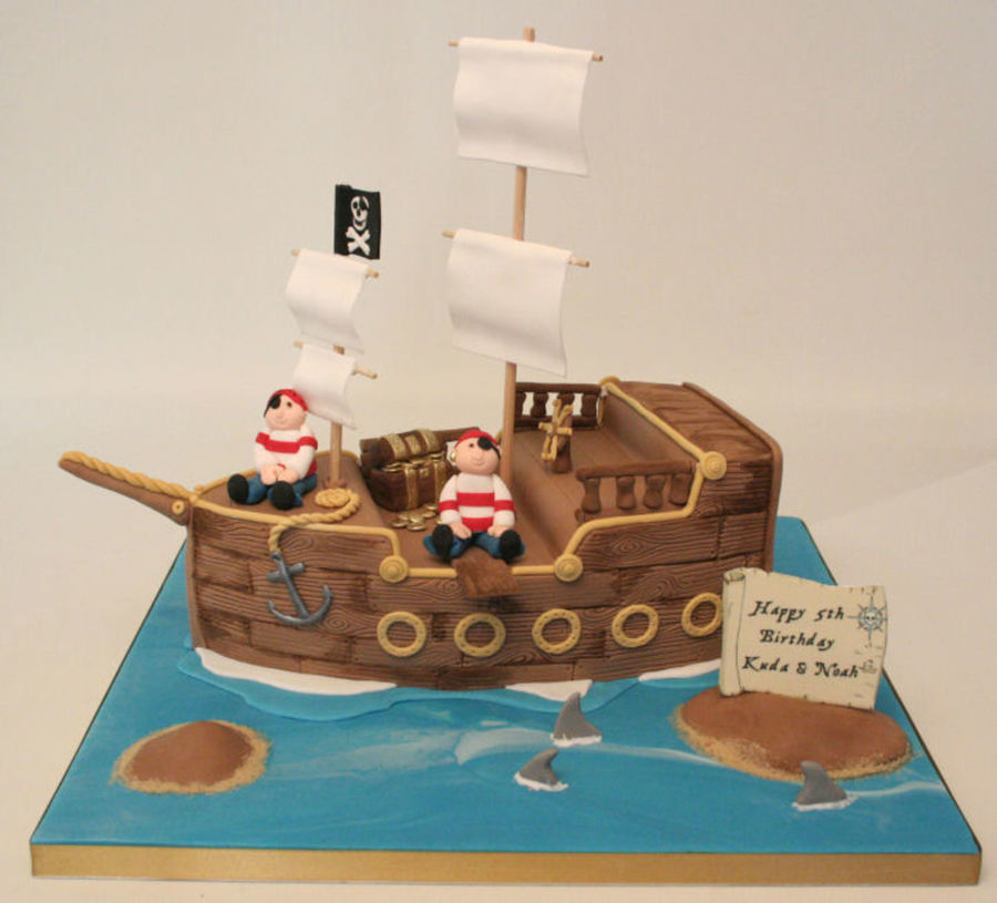 A Chocolate Pirate Ship Id Seen So Many So Thought I