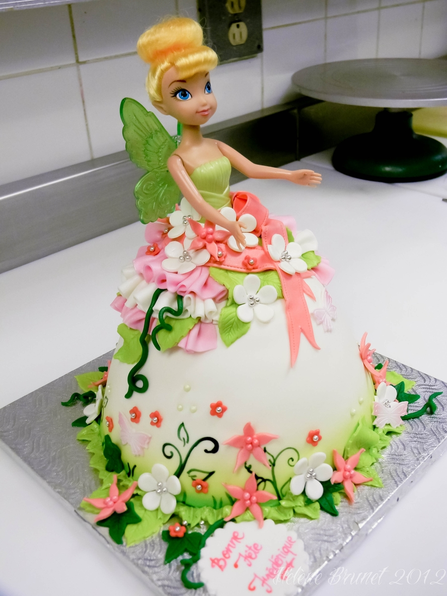 Tinkerbell Doll Cake Cakecentral Com