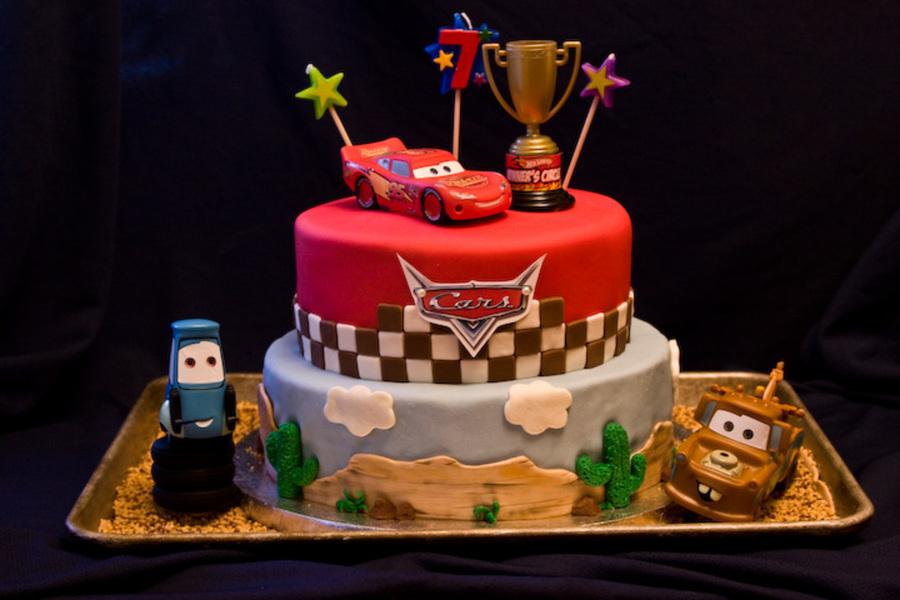 Cars Birthday Cake Cakecentral Com