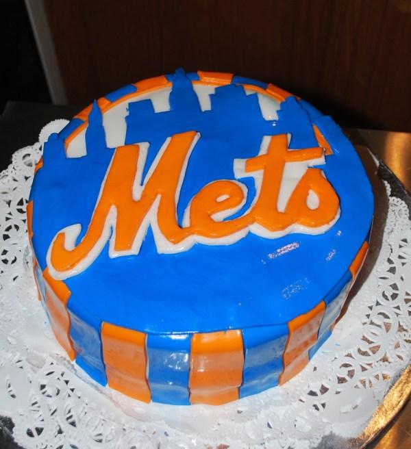 New York Mets Birthday Cake