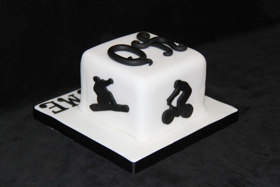 My Husbands 40th Birthday Cake Cakecentralcom