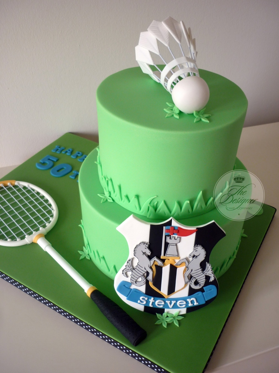 Badminton Birthday Cake CakeCentral Com