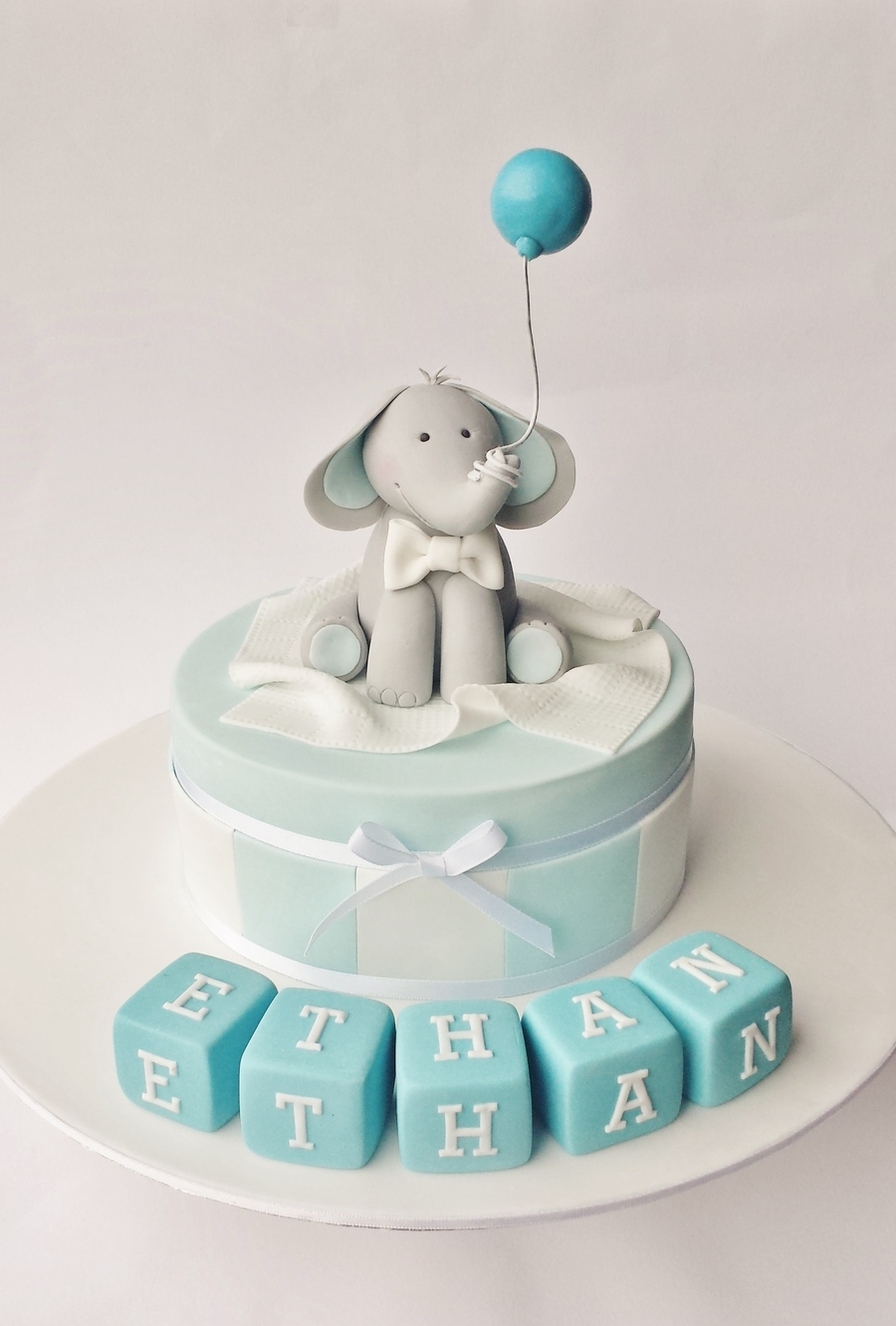 christening cake for a