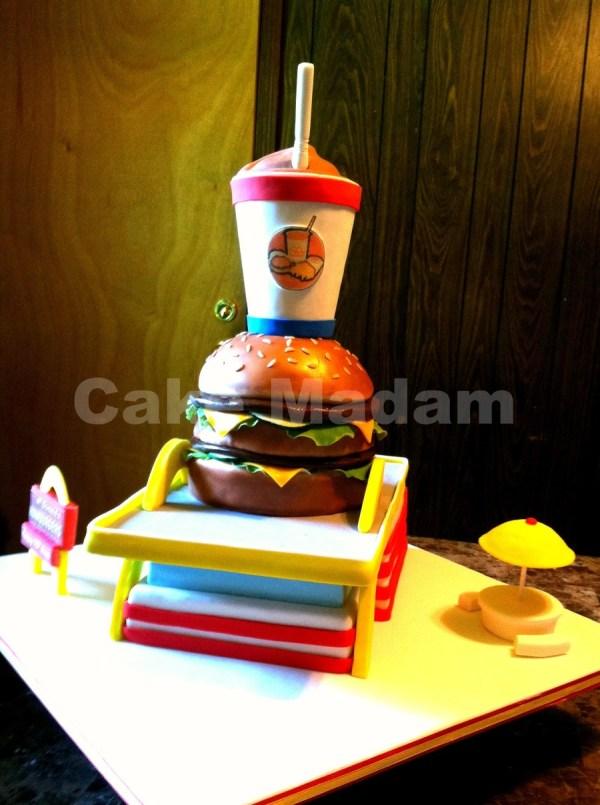 McDonalds Happy Birthday Cakes