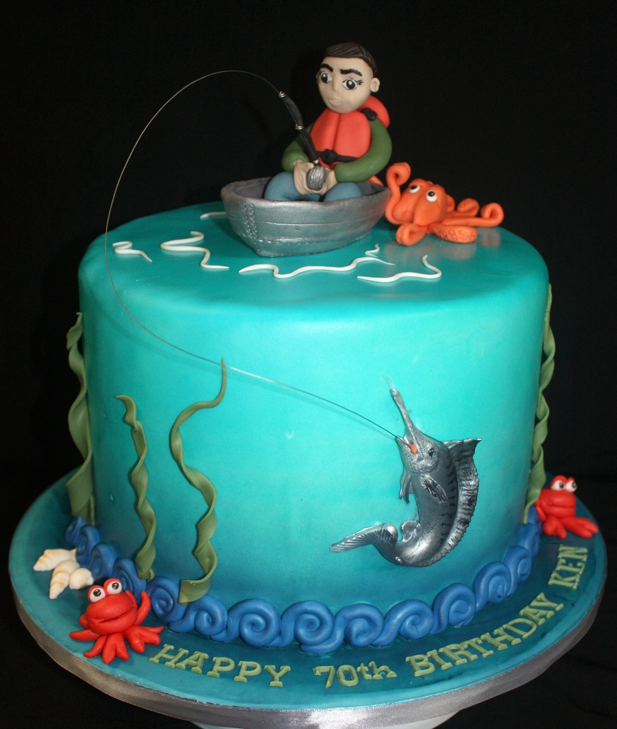Marlin Fishing Cake CakeCentral Com