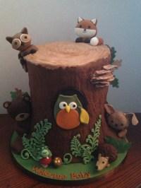 Baby Shower Cake Designed To Match The Babys Nursery ...