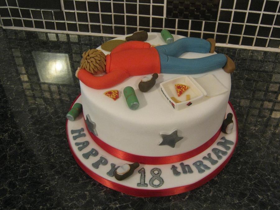 18th Birthday Cake Drunk Cakecentralcom