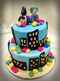 Batman Lego Cake - CakeCentral.com