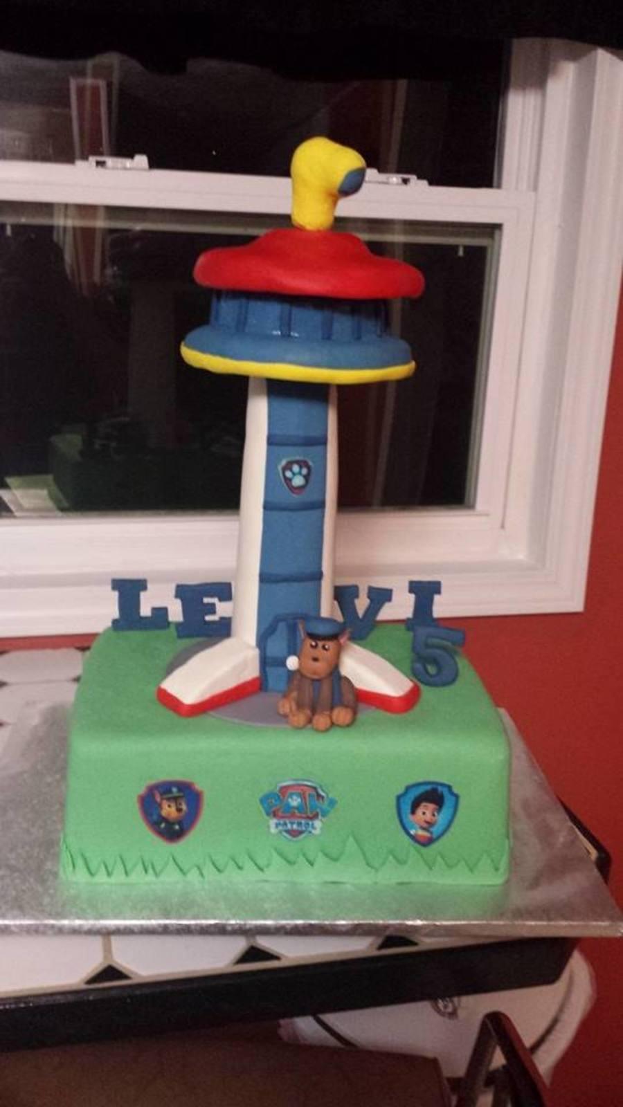 Paw Patrol Birthday Cake  CakeCentralcom