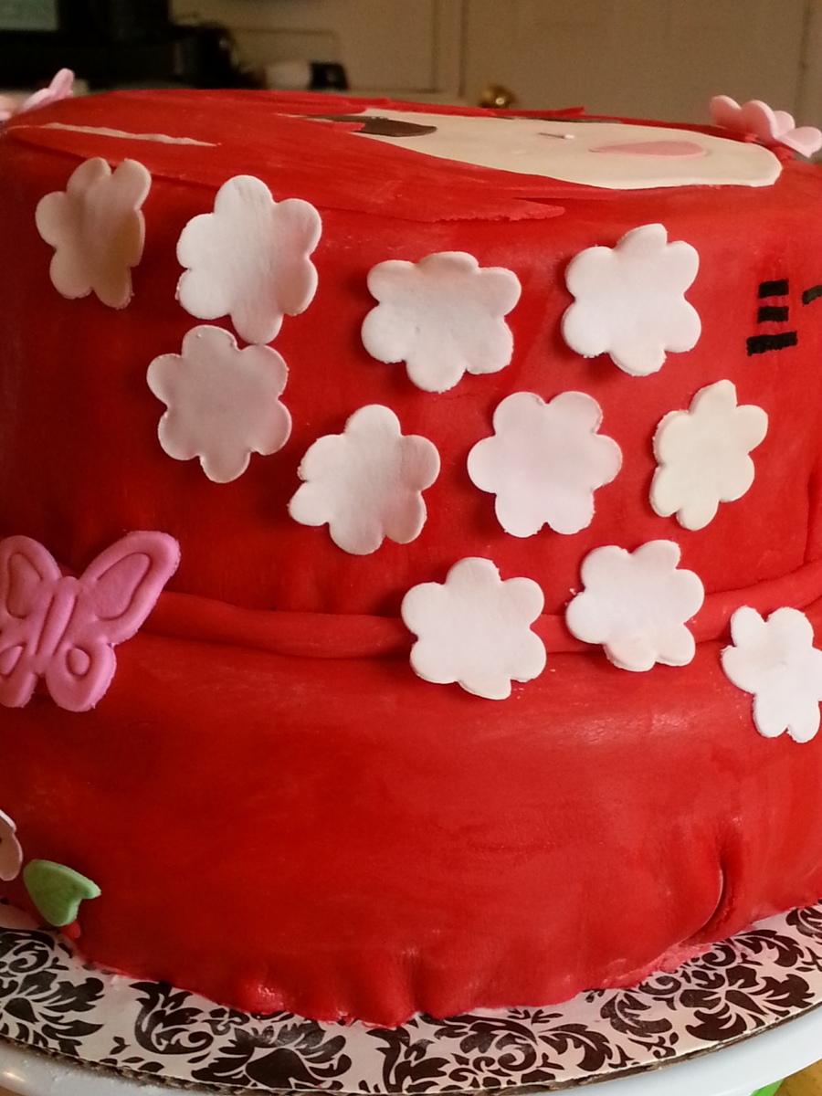 Anime Cake Of Kyoko Sakura Cakecentral Com