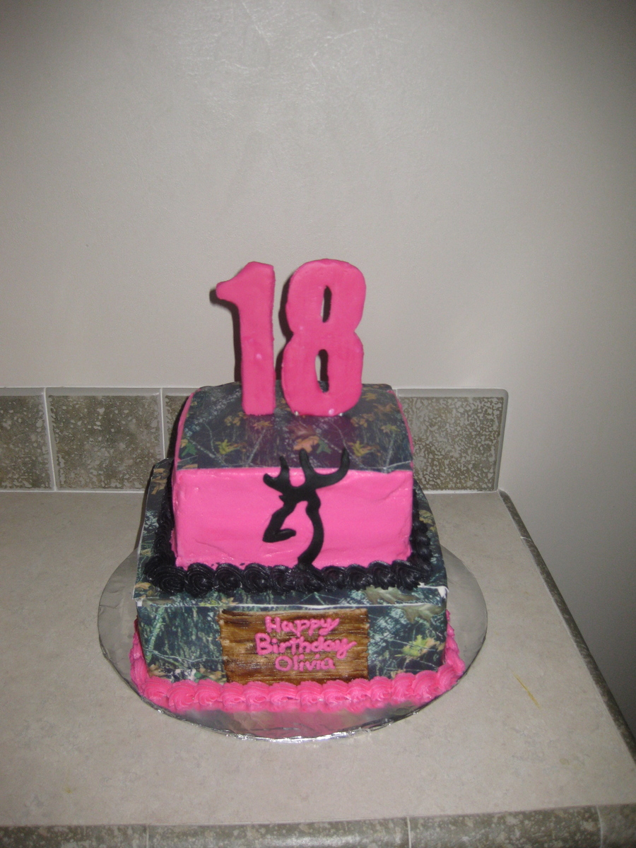 Pink Camo  CakeCentralcom