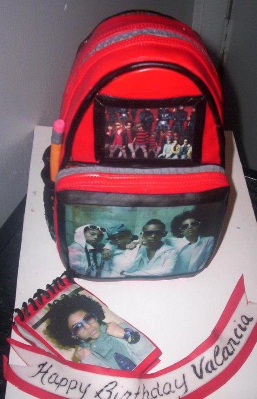 Mindless Behavior Backpack  CakeCentralcom