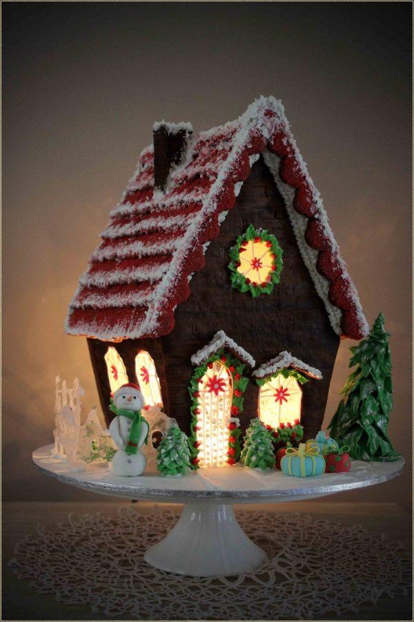 Gingerbread House Christmas 2013