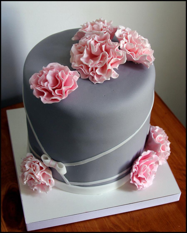 My Boyfriend S Mom S B Day Cake Cakecentral Com
