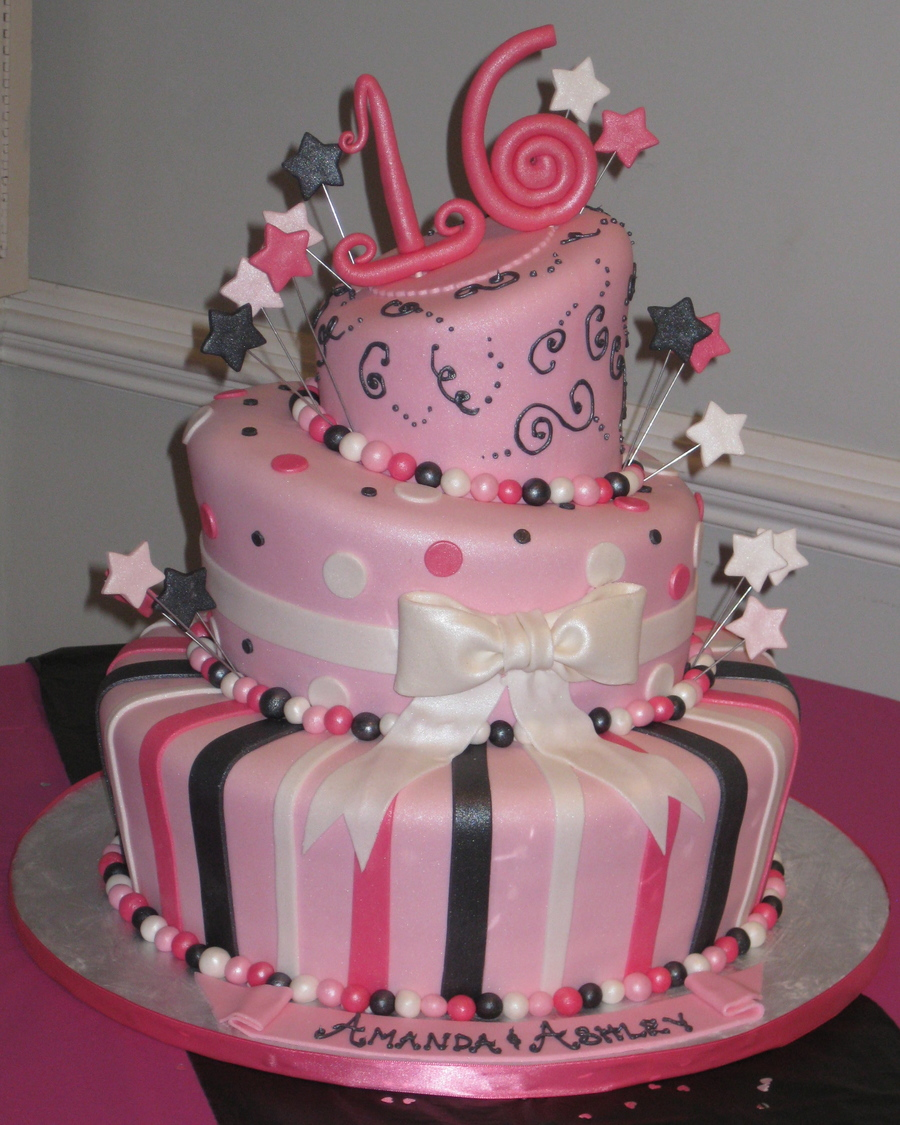 16th birthday cake cakecentral