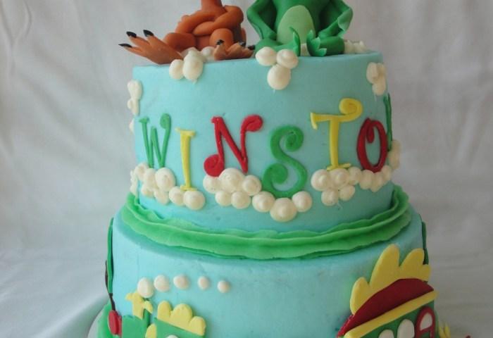 Dinosaur Train Cake Cakecentralcom