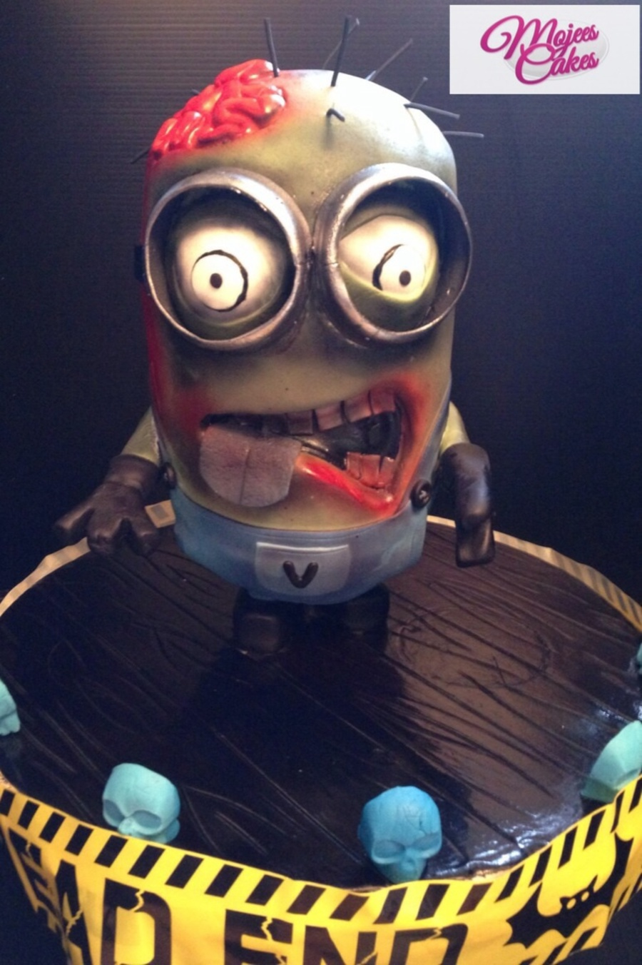 Our Walking Dead Minion  CakeCentralcom