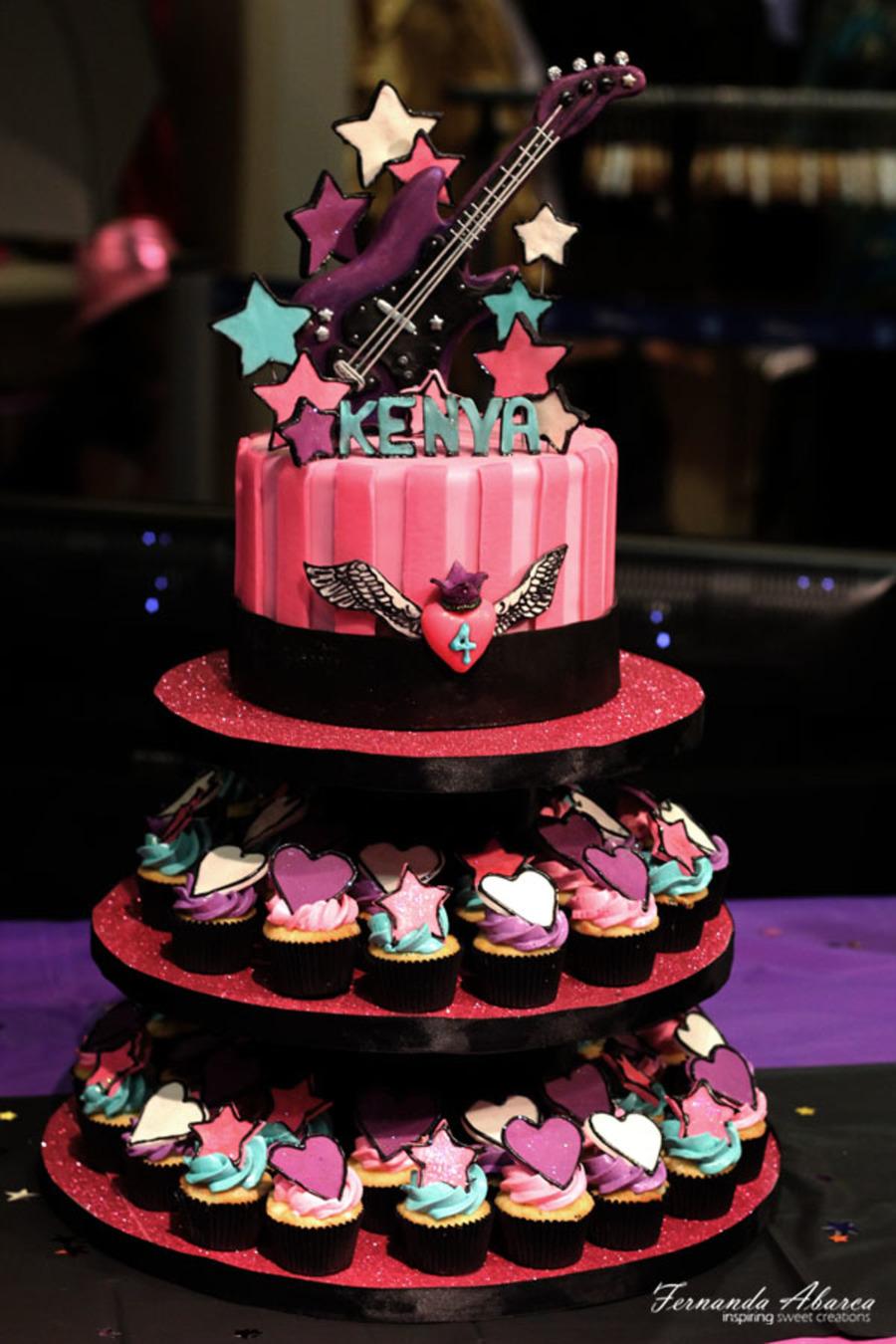 Rock Star Birthday Cake Cakecentral Com