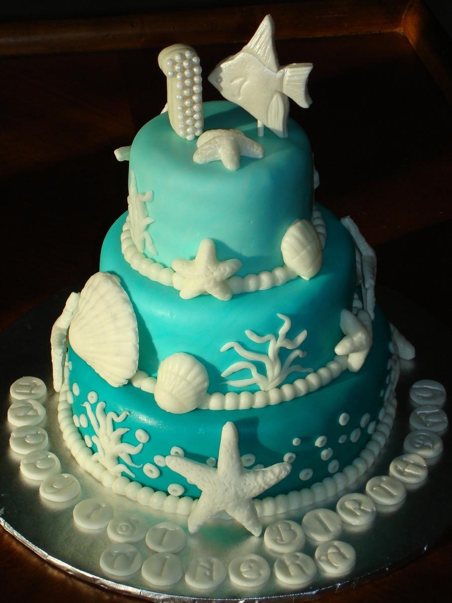 Under The Sea Cake  CakeCentralcom