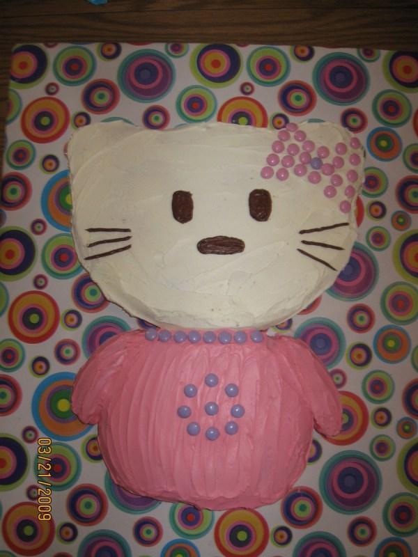 Kitty Cut Cake