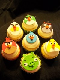 Angry Birds Cupcakes - CakeCentral.com