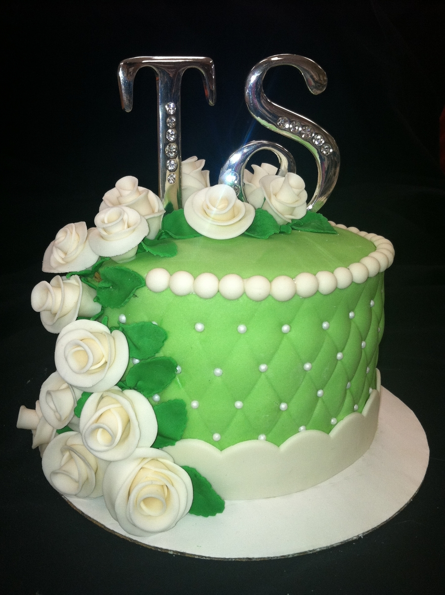 55Th Anniversary Cake CakeCentral Com