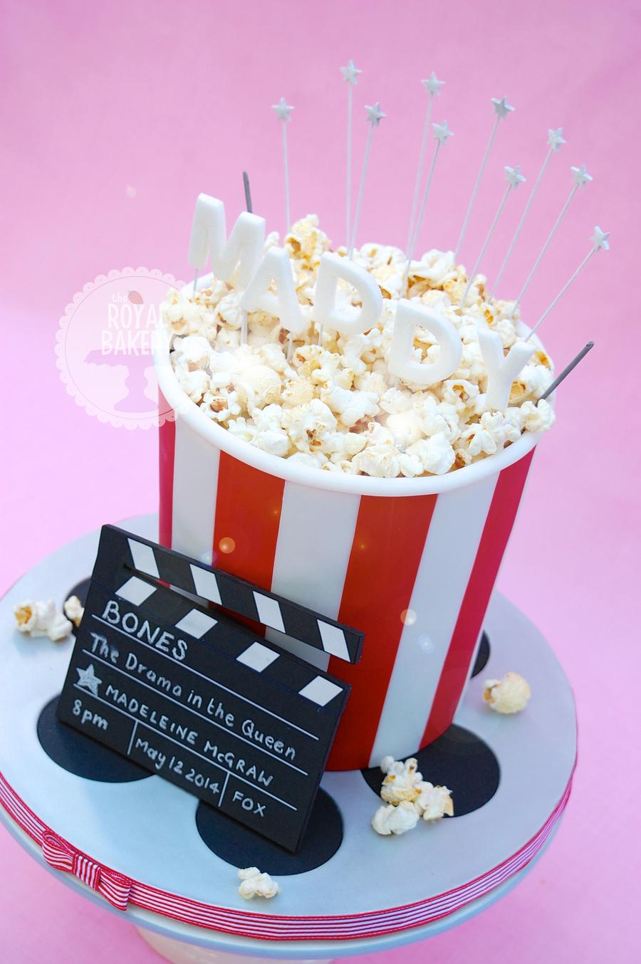 Movie Popcorn Cake Cakecentral Com