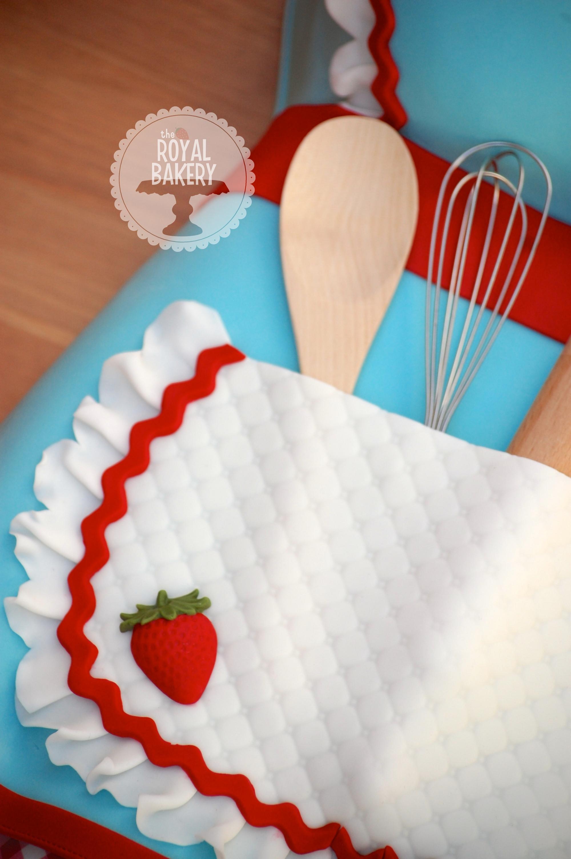kitchen themed bridal shower backsplash tiles apron tea cake cakecentral