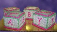 Pink Baby Blocks - CakeCentral.com