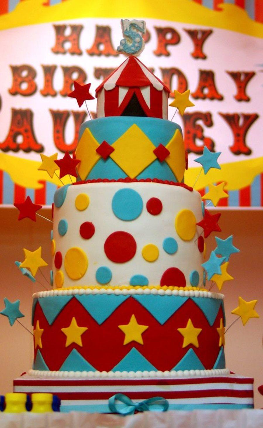 Carnival Theme Cake Cakecentral Com